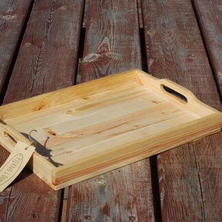 taca drewniana