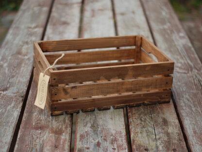 skrzynka drewniana dębowa