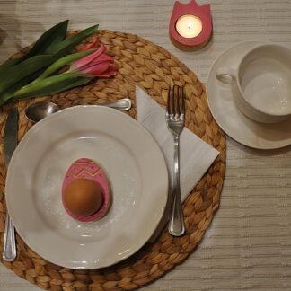 świecznik podstawka do jajka pisanka