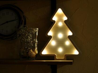 lampka choinka