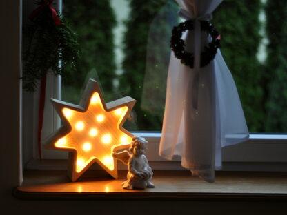 lampka gwiazdka