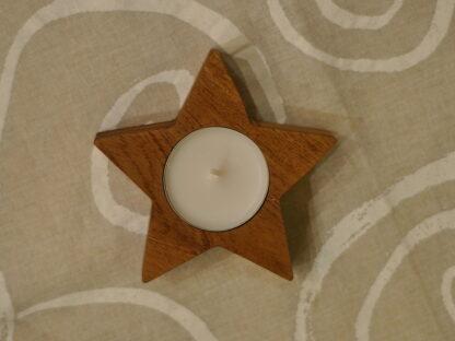 świecznik gwiazdka