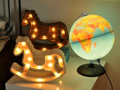 lampka konik na biegunach