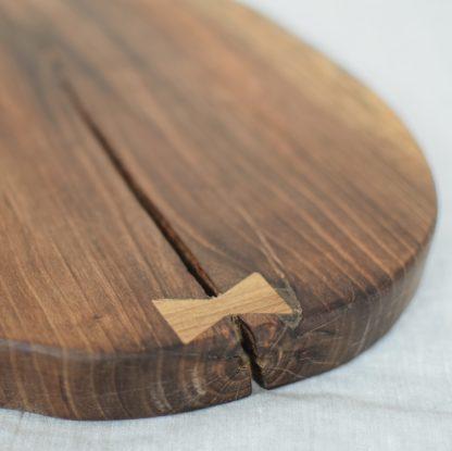 patera z drewna orzechowego 3
