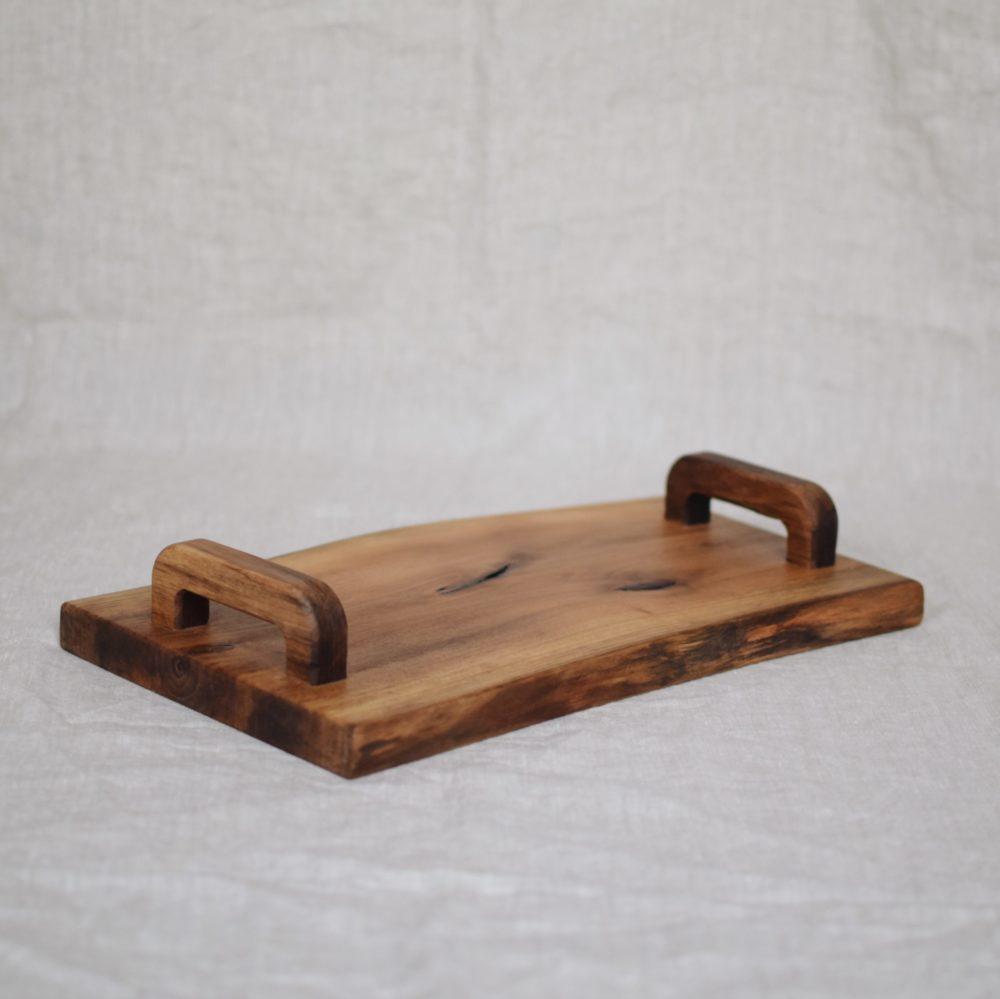 taca z drewna orzechowego 3
