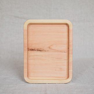 cyprysowa taca drewniana