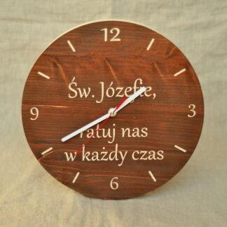 zegar Św. Józef