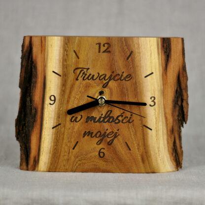 zegar z cytatem
