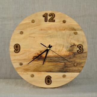 rustykalny zegar ścienny